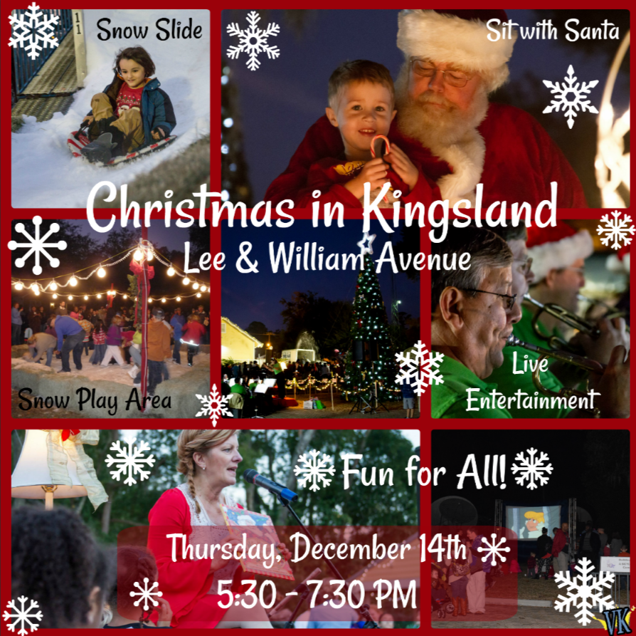 Christmas In Kingsland Collage - NEW