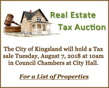 Real Estate Tax Auction 872018