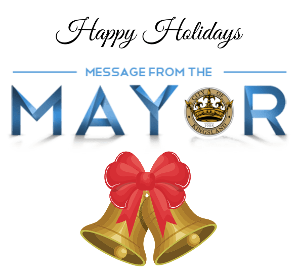 Season's Greetings From Mayor Day